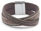 Saks Fifth Avenue Crystal Cuff Bracelet