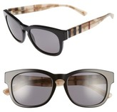 Burberry Women's 55Mm Retro Sunglasses - Black