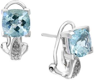 Effy Fine Jewelry 14K 2.49 Ct. Tw. Diamond & Aquamarine Earrings