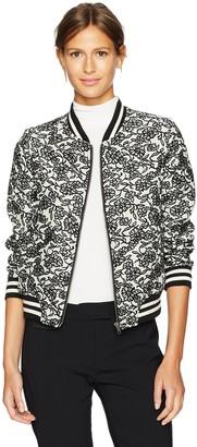 BB Dakota Women's Addie Jacquard Bomber Jacket
