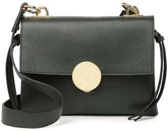 Persaman New York Fabbiana Leather Shoulder Bag