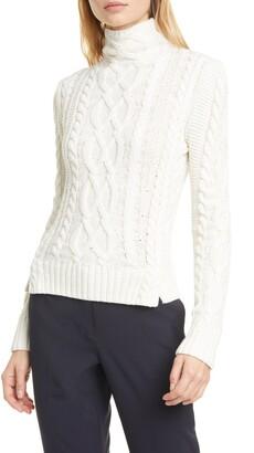 Polo Ralph Lauren Aran Linen & Cotton Sweater