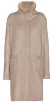 Loro Piana Morris Cashmere Coat With Mink Fur