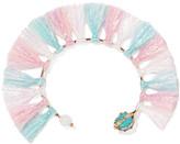 Rosantica Baby Tinsel, Turquoise And Quartz Bracelet - Pink