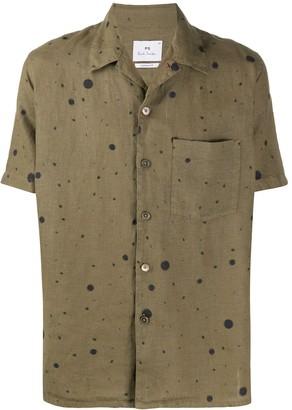 Paul Smith Dot Print Shirt