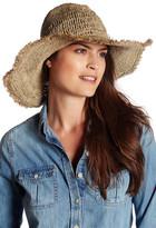 Flora Bella Sadie Crochet Raffia Cowboy Hat