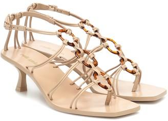 Cult Gaia Ziba leather sandals