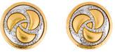 Gurhan Triskele Diamond Button Earrings