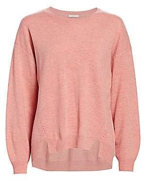 Joie Women's Kyran Bishop-Sleeve Wool Sweater