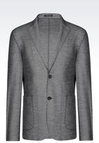 Emporio Armani Jacket In Jersey