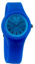 Eton Ladies Watch 2816-BL with Blue Dial and Blue Rubber Strap