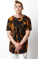 On The Byas Bleach Splatter Scallop T-Shirt