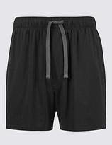 David Gandy For Autograph Modal Blend Slim Fit Shorts