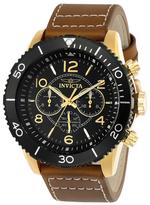 Invicta Aviator Water Resistant VD34 Quartz Watch, 48mm