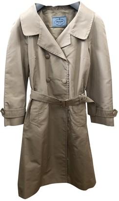 Prada Beige Silk Trench coats