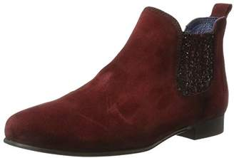 Pinto Di Blu Women's Alice Chelsea Boots, (Red 32)