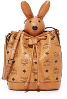 MCM Rabbit Drawstring Bag