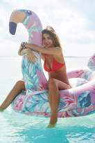 Urban Outfitters Floral Flamingo Pool Float