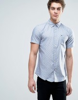 Tommy Hilfiger Printed Short Sleeve Shirt
