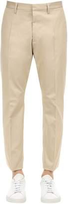 DSQUARED2 16.5cm Hockney Cotton Canvas Pants