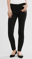 Esprit Soft satin stretch trousers, 5-pocket style