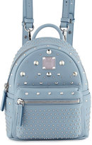 MCM Stark Special Bebe Boo Leather Backpack