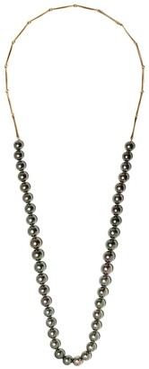 hum 18kt Yellow Gold Pearl Necklace