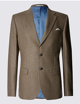 Collezione Luxury Pure Cashmere 2 Button Jacket With Buttonsafetm