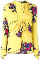 Proenza Schouler floral print blouse