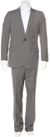 Christian Dior Wool Notch-Lapel Suit