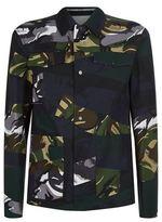 Kenzo Broken Camouflage Military Jacket