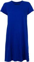 Sacai flared shift dress - women - Cotton/Polyester/Cupro - 1
