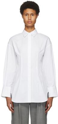 PARTOW White Poplin Petra Shirt