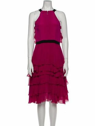 Prabal Gurung Silk Midi Length Dress w/ Tags Pink
