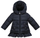 Moncler Girls' Ruffled Down Jacket - Baby