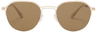 Mykita X Maison Margiela Stainless-steel Sunglasses - Gold
