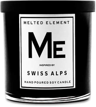 Melted Element Swiss Alps Soy Candle, 11-oz.