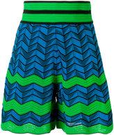 M Missoni zig zag shorts - women - Cotton/Polyamide/Polyester/Spandex/Elastane - 42