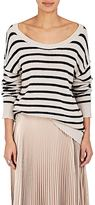 A.L.C. Women's Rowan Striped Cotton-Blend Sweater