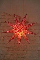 Urban Outfitters Star Paper Lantern