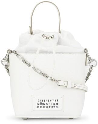 Maison Margiela Number Logo Patch Bucket Bag