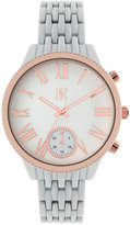 INC International Concepts Women's April White Bracelet Watch 40mm, Created for Macy's