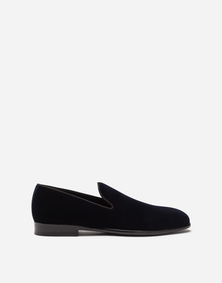 Dolce & Gabbana Slippers In Velvet