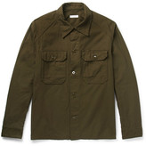 Engineered Garments Cotton-twill Field Overshirt - Green