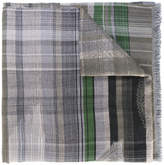 Etro plaid scarf