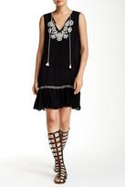 Love Stitch Crochet Tassel Tunic Dress