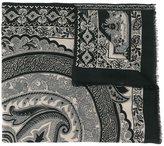 Etro cashmere oriental print scarf