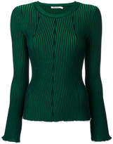 Alexander Wang rib knit top