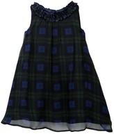 Joe Fresh Printed Ruffled Chiffon Dress (Toddler & Little Girls)