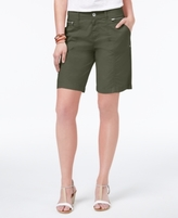 Style&Co. Style & Co Style & Co Petite Zip-Detail Shorts, Created for Macy's